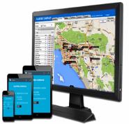 gps tracker computer mobile