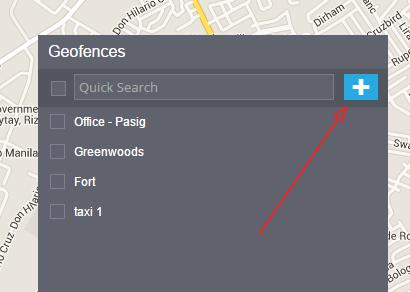 geofence gps tracker