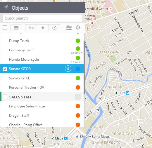 objects for gps monitoring philippines