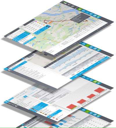 fleet management web tracking platform reports