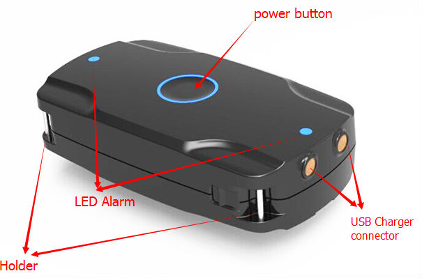 mini gps tracker charger