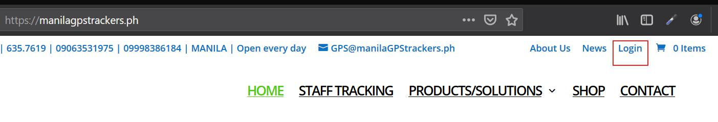 Login to gps web tracking platform philippines