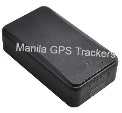Portable GPS Tracker angle view