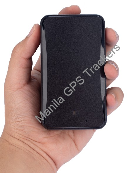 Portable GPS Tracker in hand